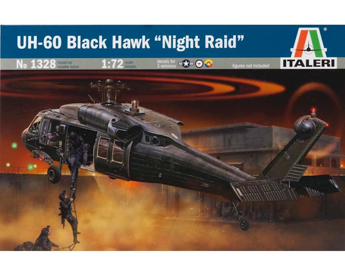 Italeri Models 1/72 UH-60 Black Hawk Night Raid