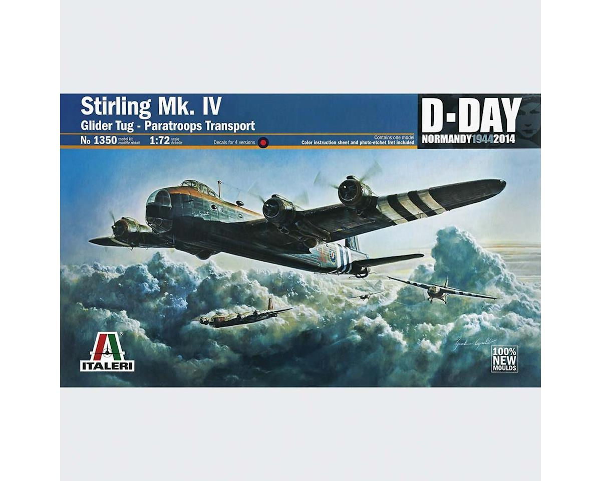 Italeri Models 1/72 Stirling MK.IV Glidertug/Para Transport