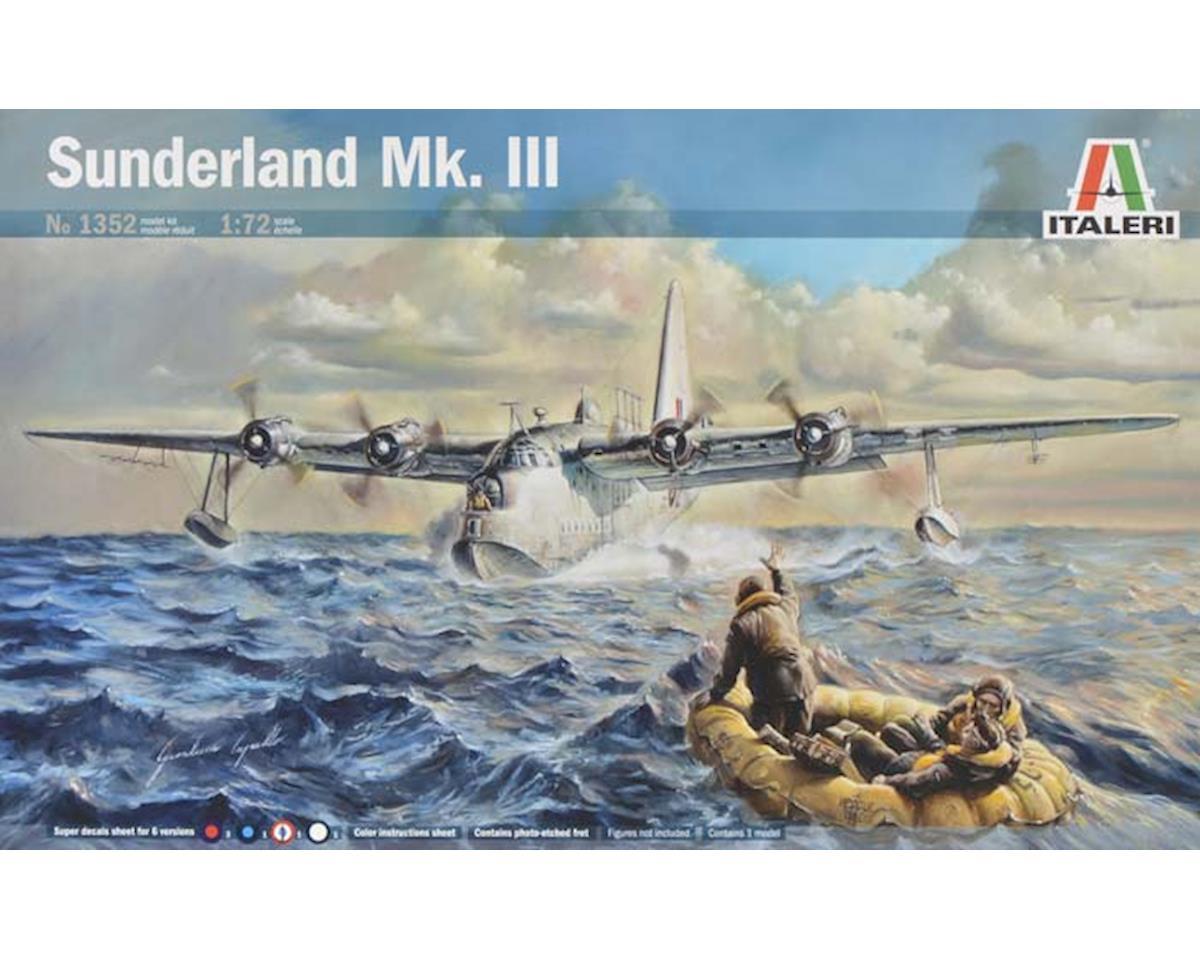 1/72 Sunderland Mk III Flying Boat Aircraft by Italeri Models
