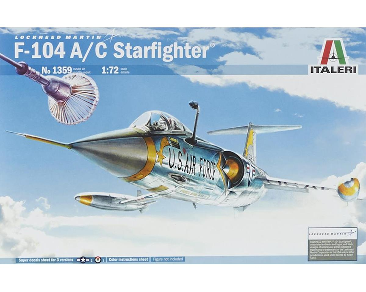 Italeri Models 1/72 F104A/C Starfighter USAF & NATO Supersonic In