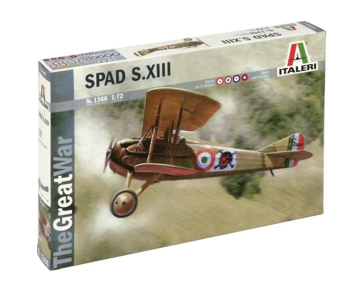 1/72 Spad S.Xiii by Italeri Models
