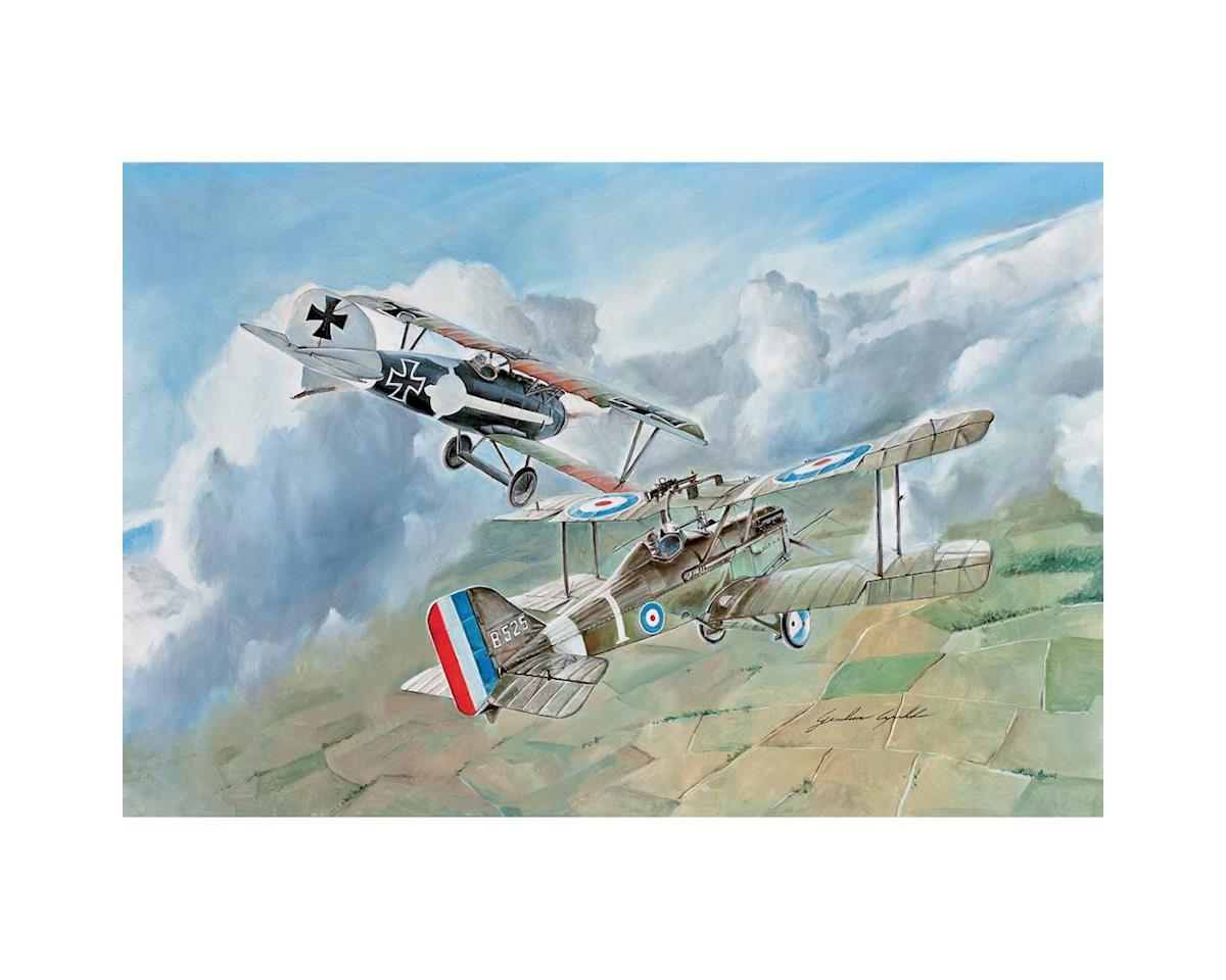 Italeri Models 1/72 S.E.5a / Albatros D.III (2 model kits)