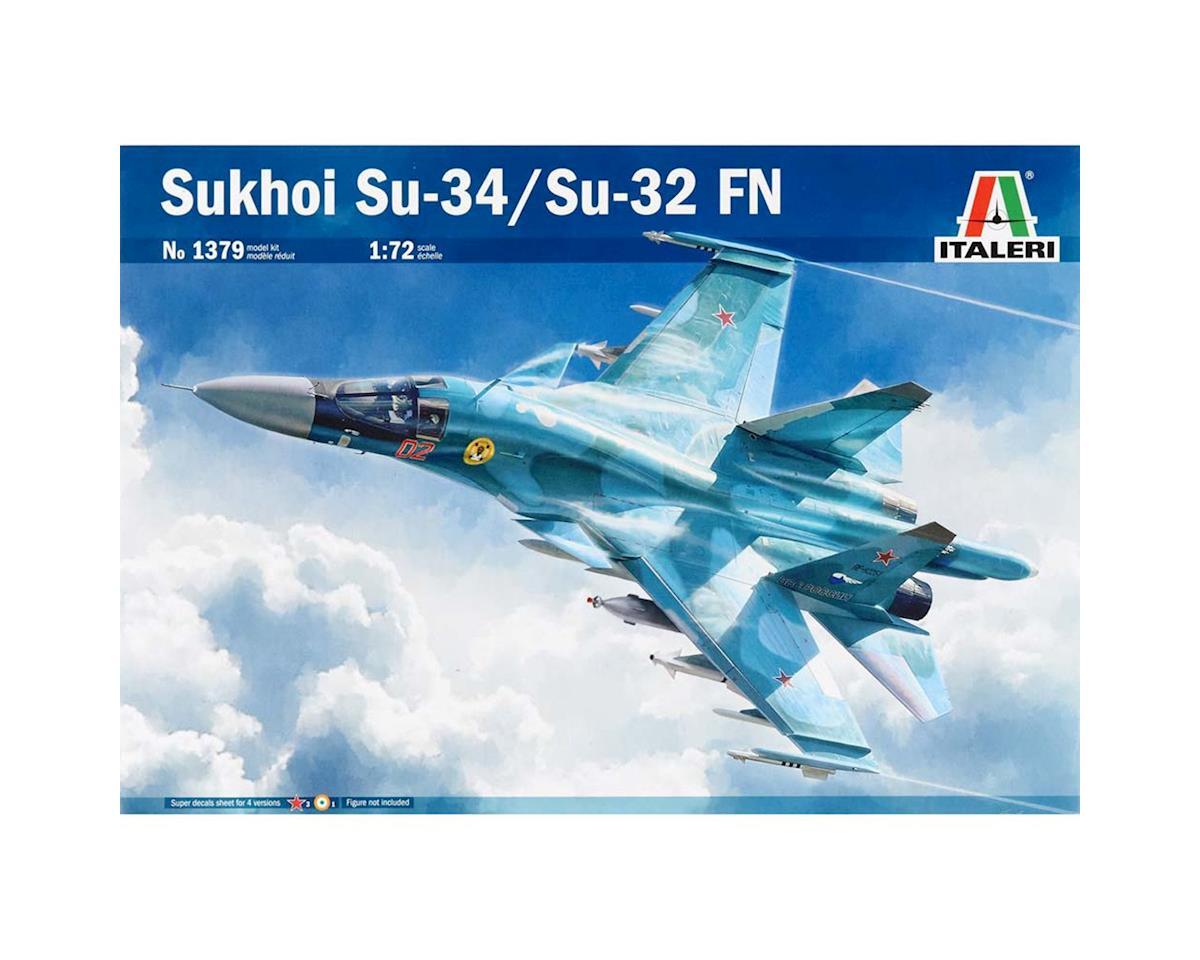 Italeri Models 1/72 Sukhoi SU-34/32 Fullback