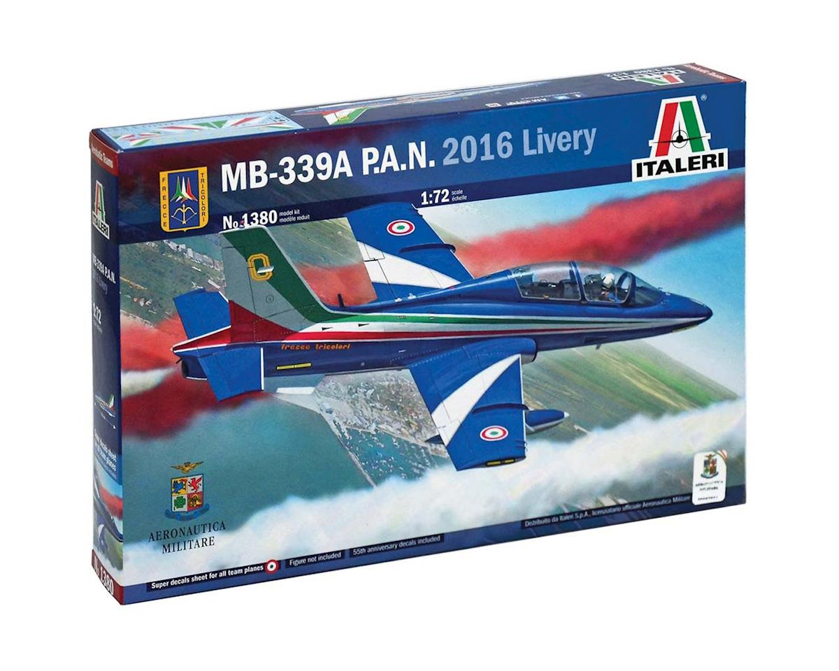 1/72 Mb 339 P.A.N. (2016 Livery) by Italeri Models