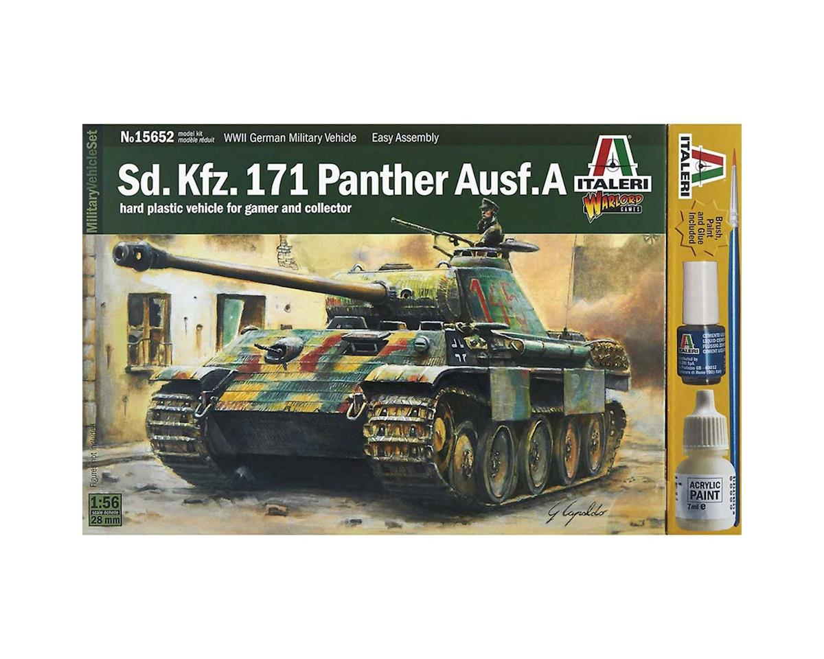 Italeri Models 1/56 Sd.Kfz 171 Panther Ausf.A