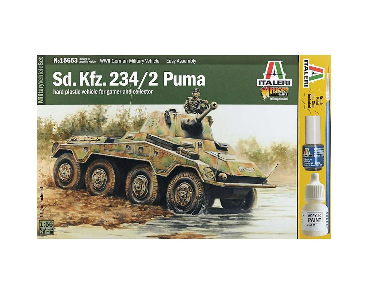 Italeri Models 1/56 Sd.Kfz. 234/2 Puma
