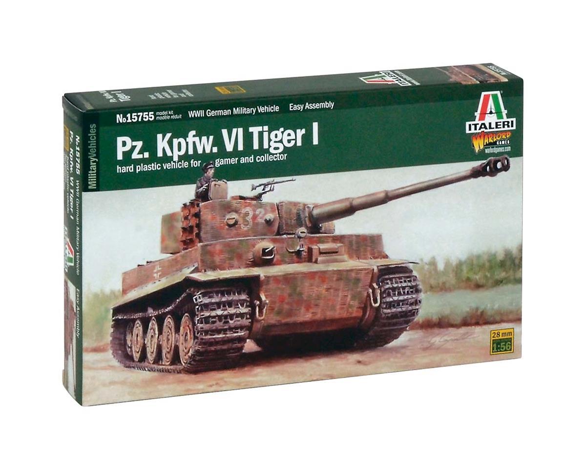 Italeri Models 1/56 Pz.Kpfw.VI Tiger I Tank