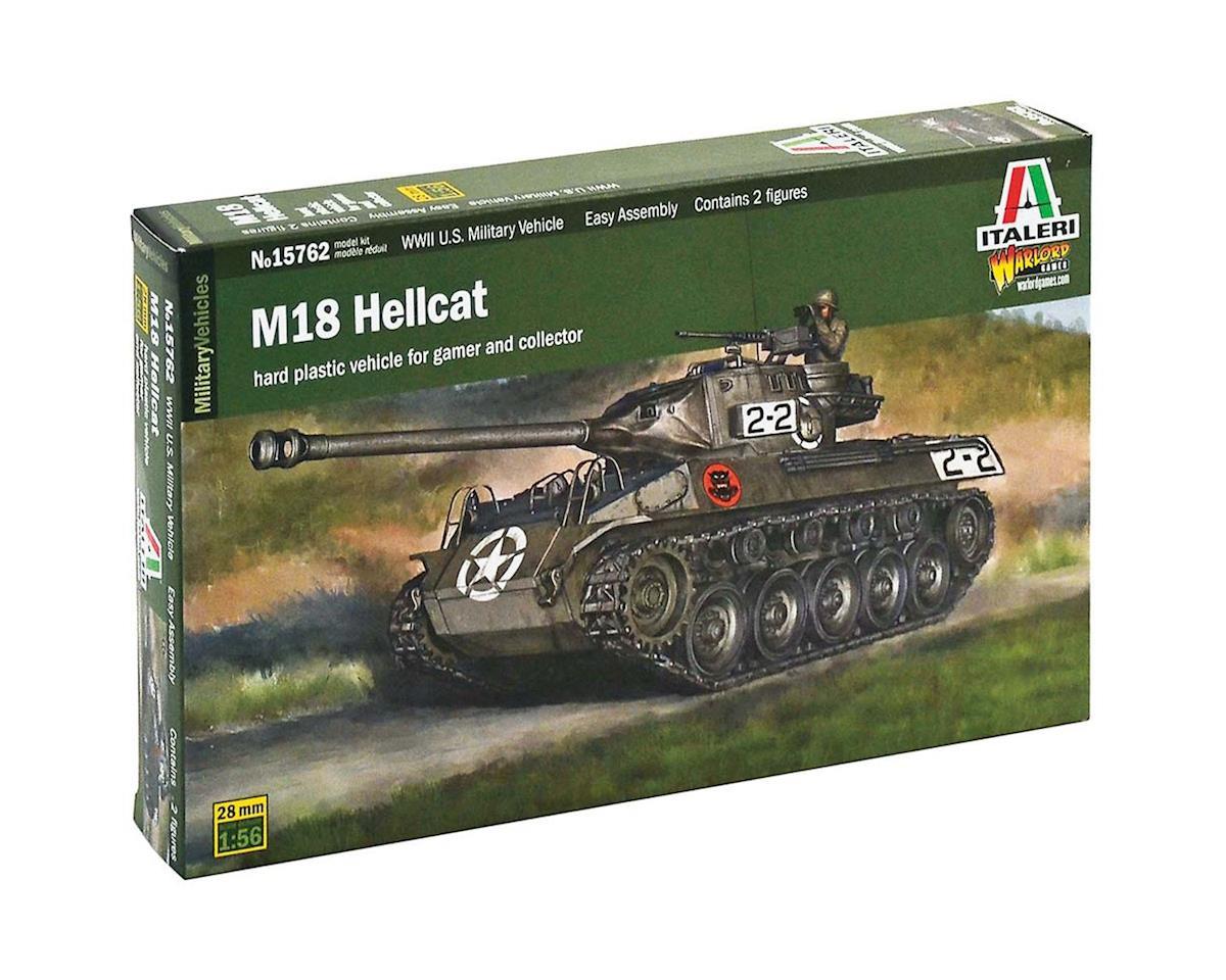 Italeri Models 1/56 M18 Hellcat Tank w/2 Drivers