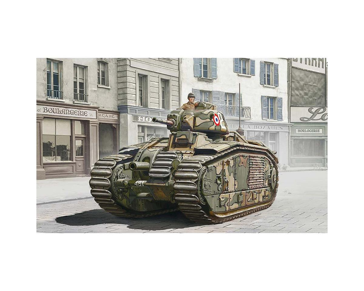Italeri Models 1/56 Char B1 Tank - 3 Drivers Included