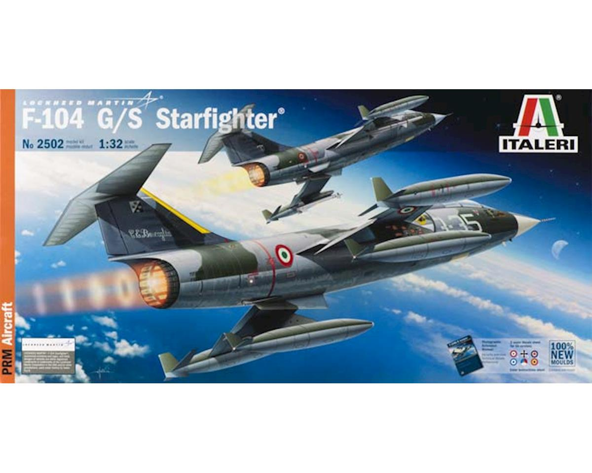 Italeri Models 1/32 F104G/S Starfighter Aircraft (New Tool)