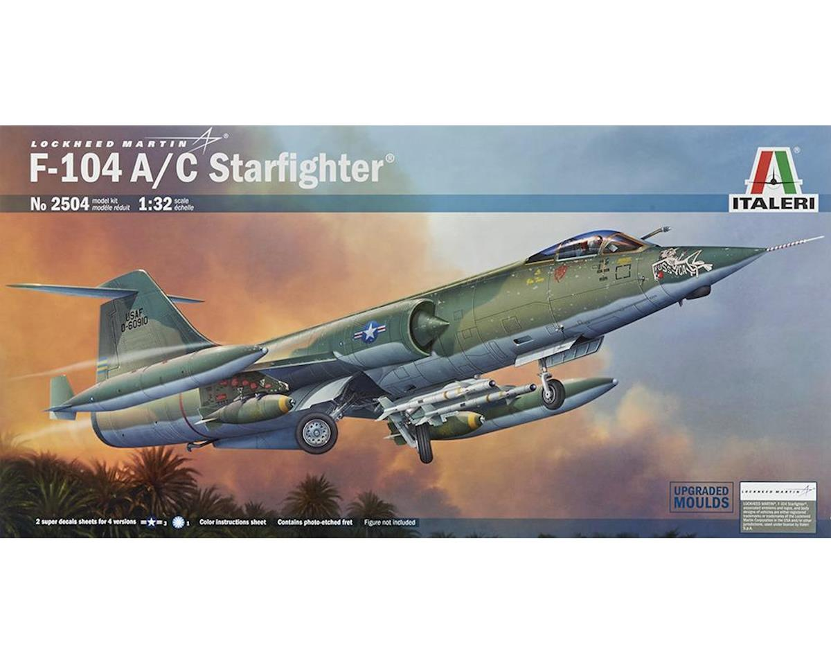 Italeri Models 1/32 F104A/C Starfighter USAF & NATO Supersonic In