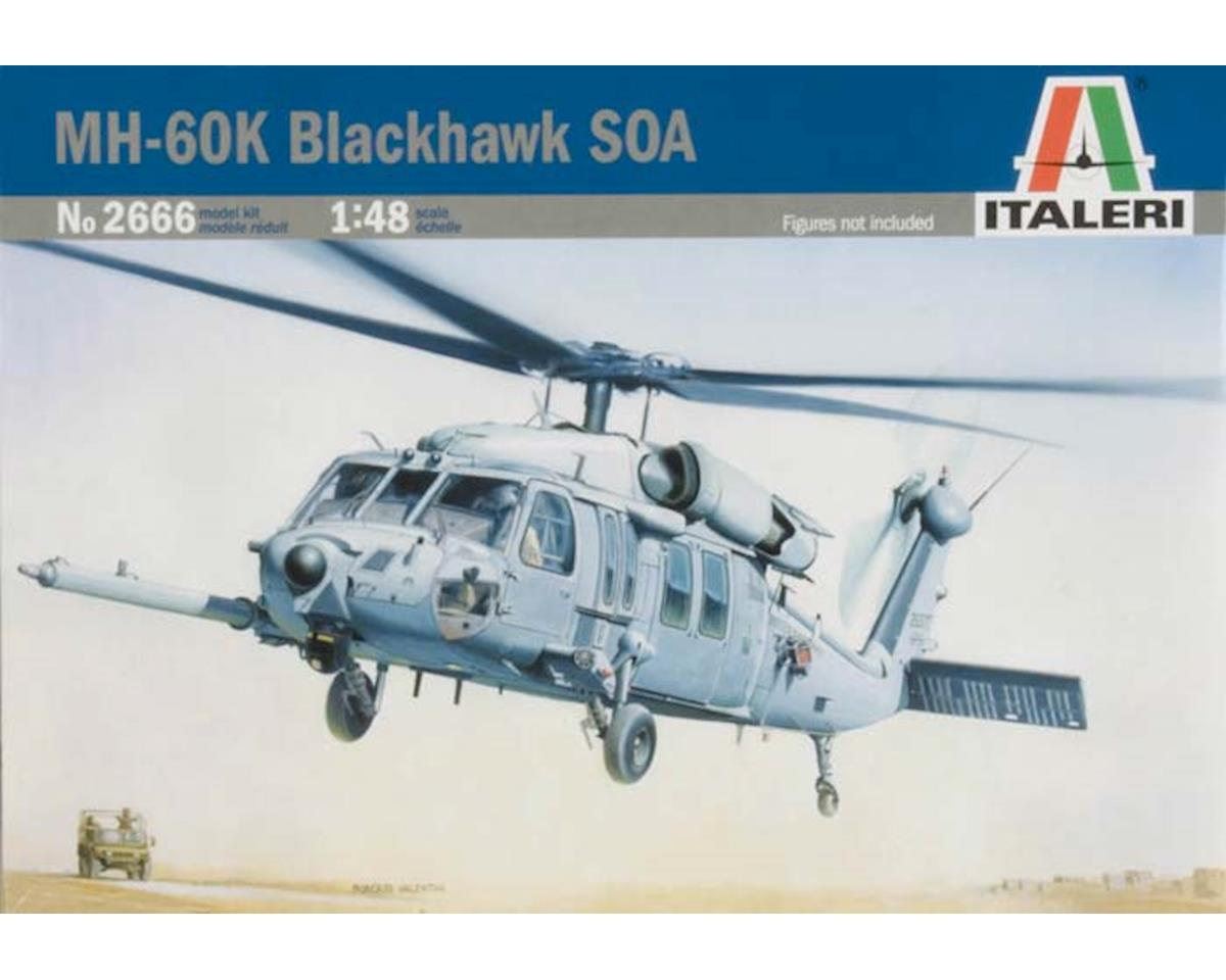 Italeri Models 1/48 MH-60K Blackhawk SOA