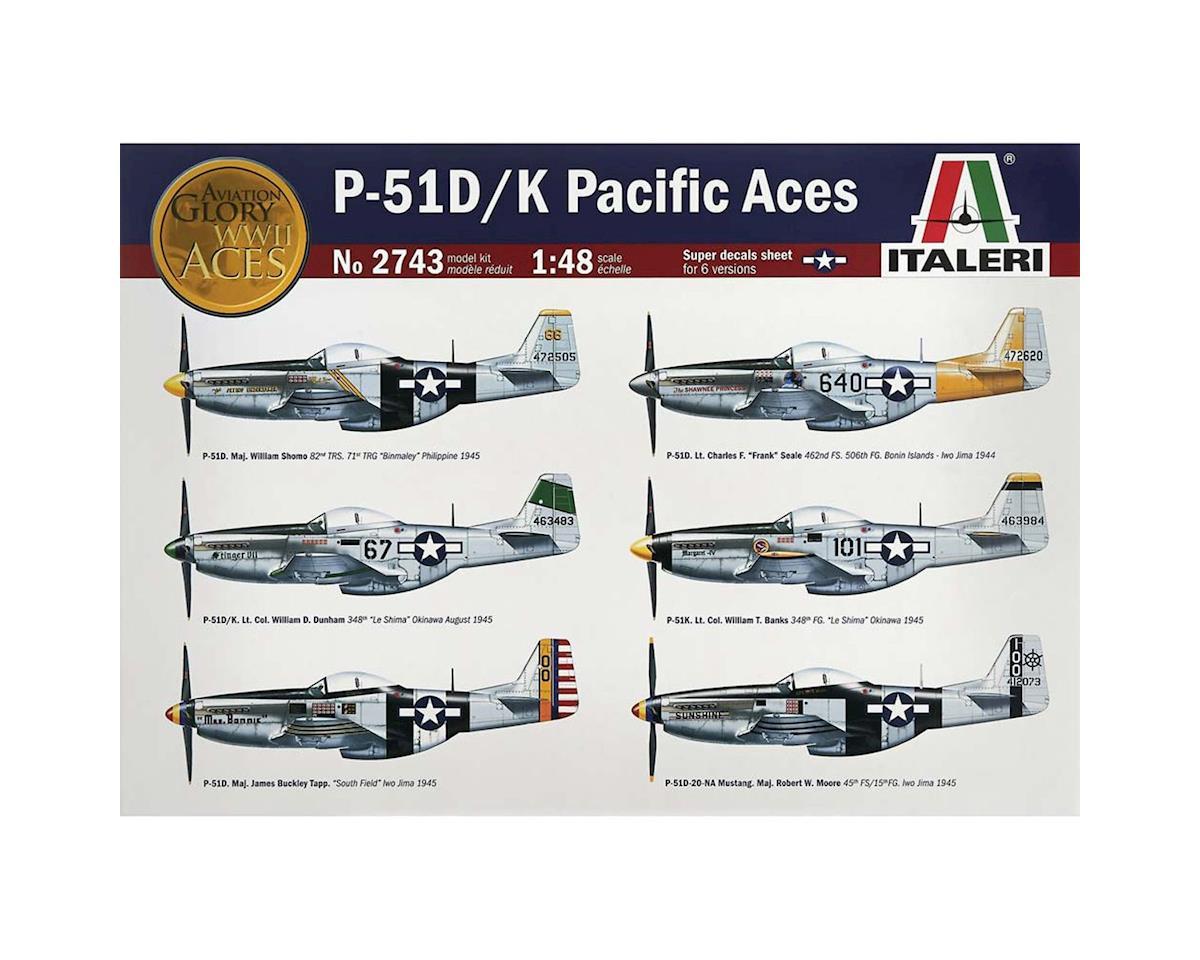 Italeri Models 1/48 P51 D/K Pacific Aces