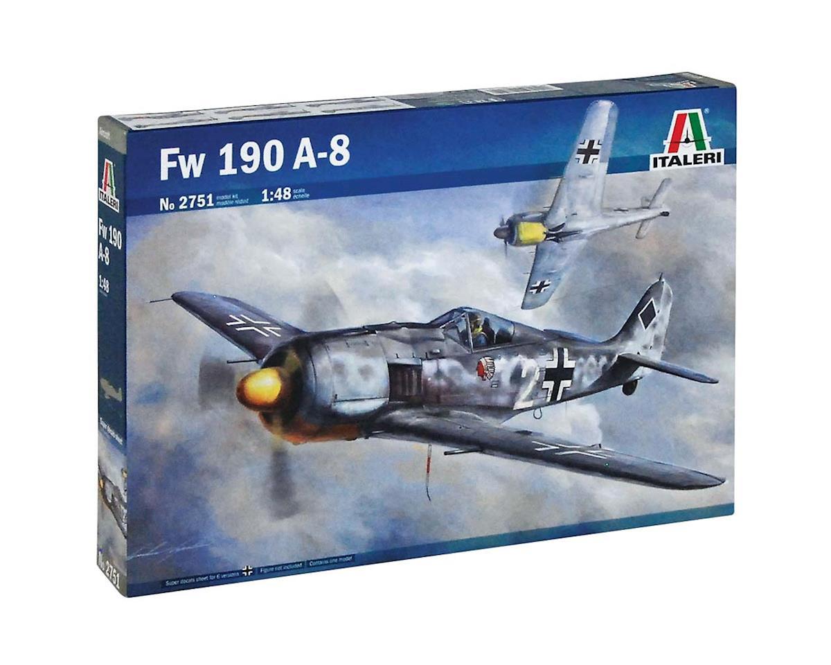 1/48 Focke Wulf Fw 190 A-8 by Italeri Models