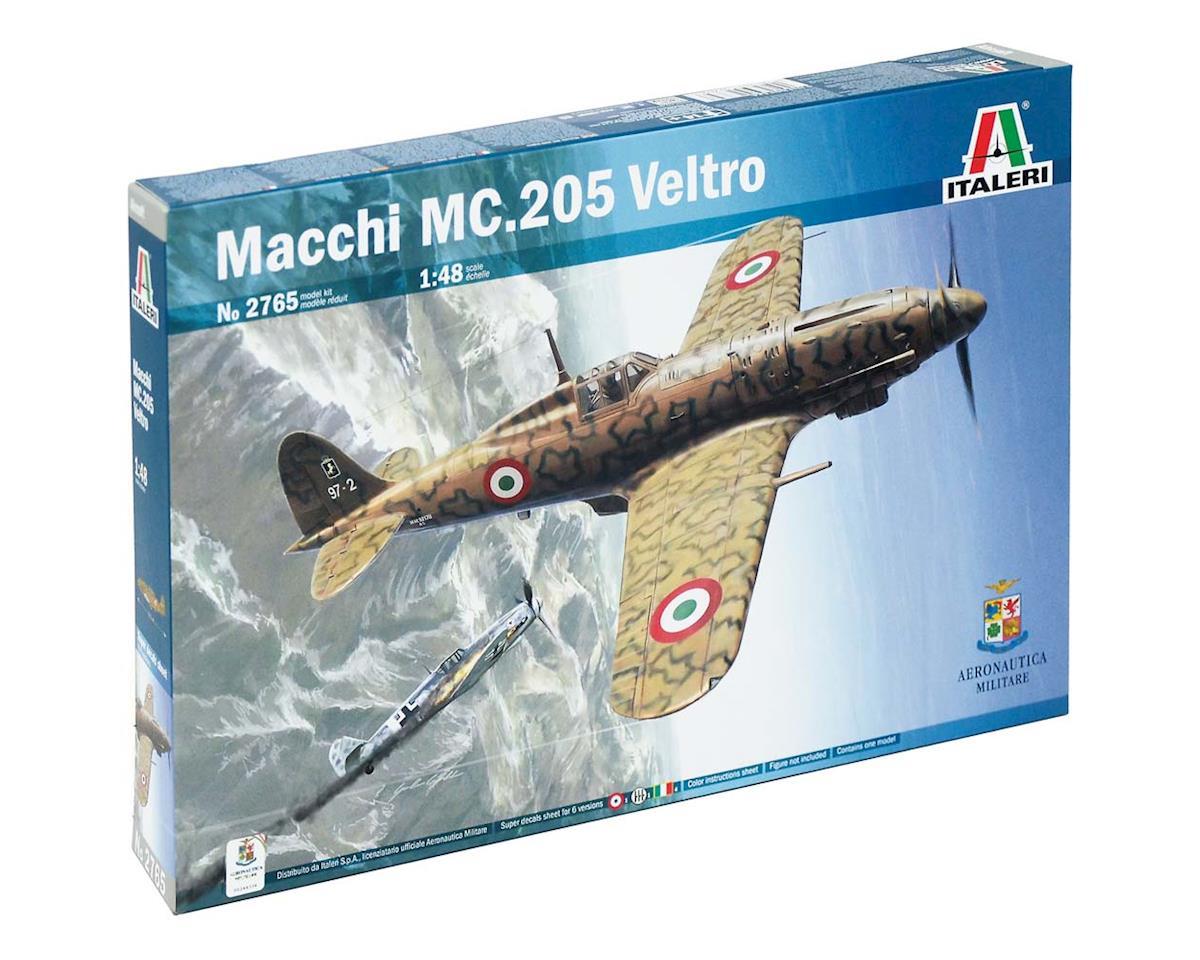 "Italeri Models 1/48 Macchi M.C. 205 ""Veltro"""