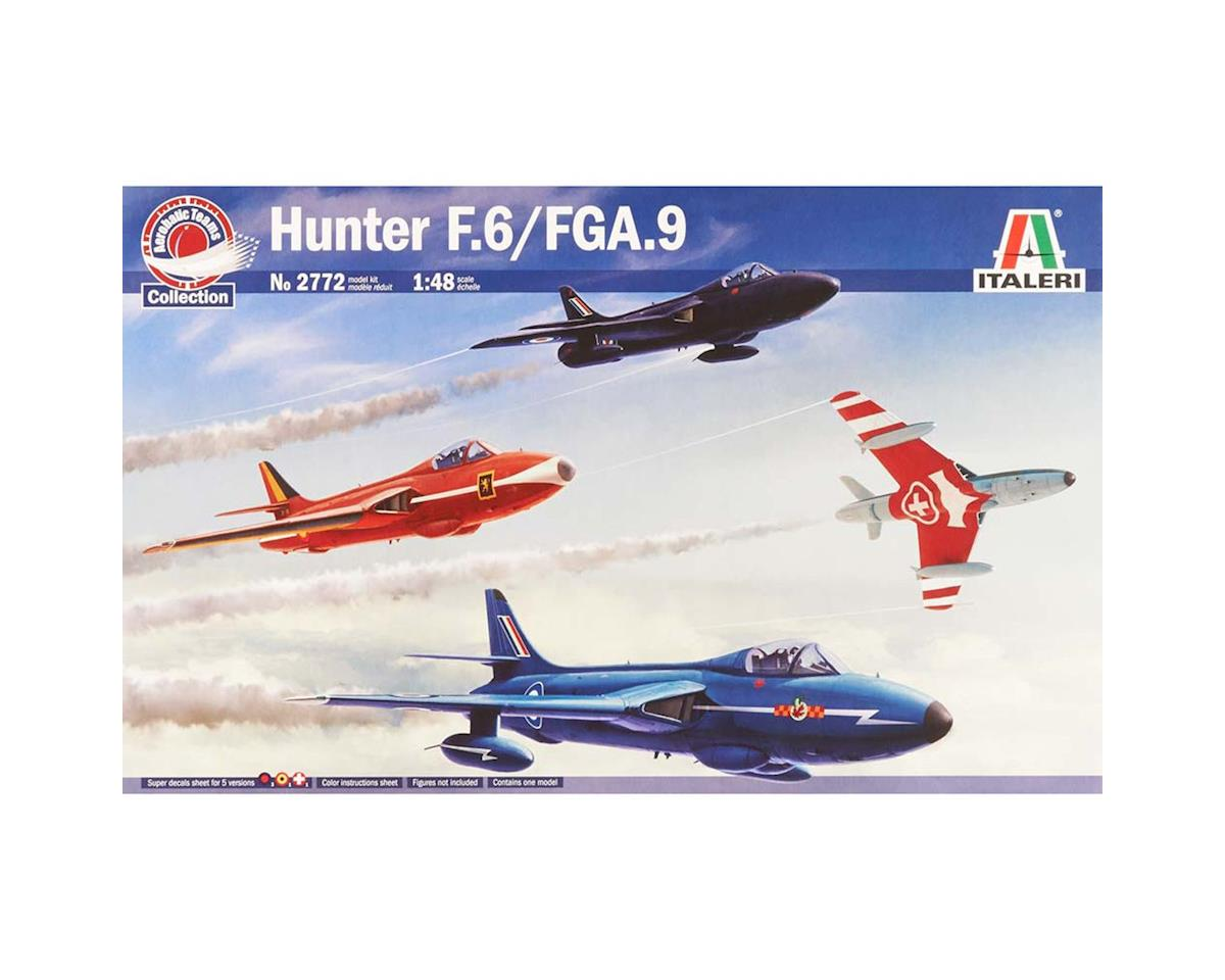 Italeri Models 1/48 Hawker Hunter F Mk. 6/9