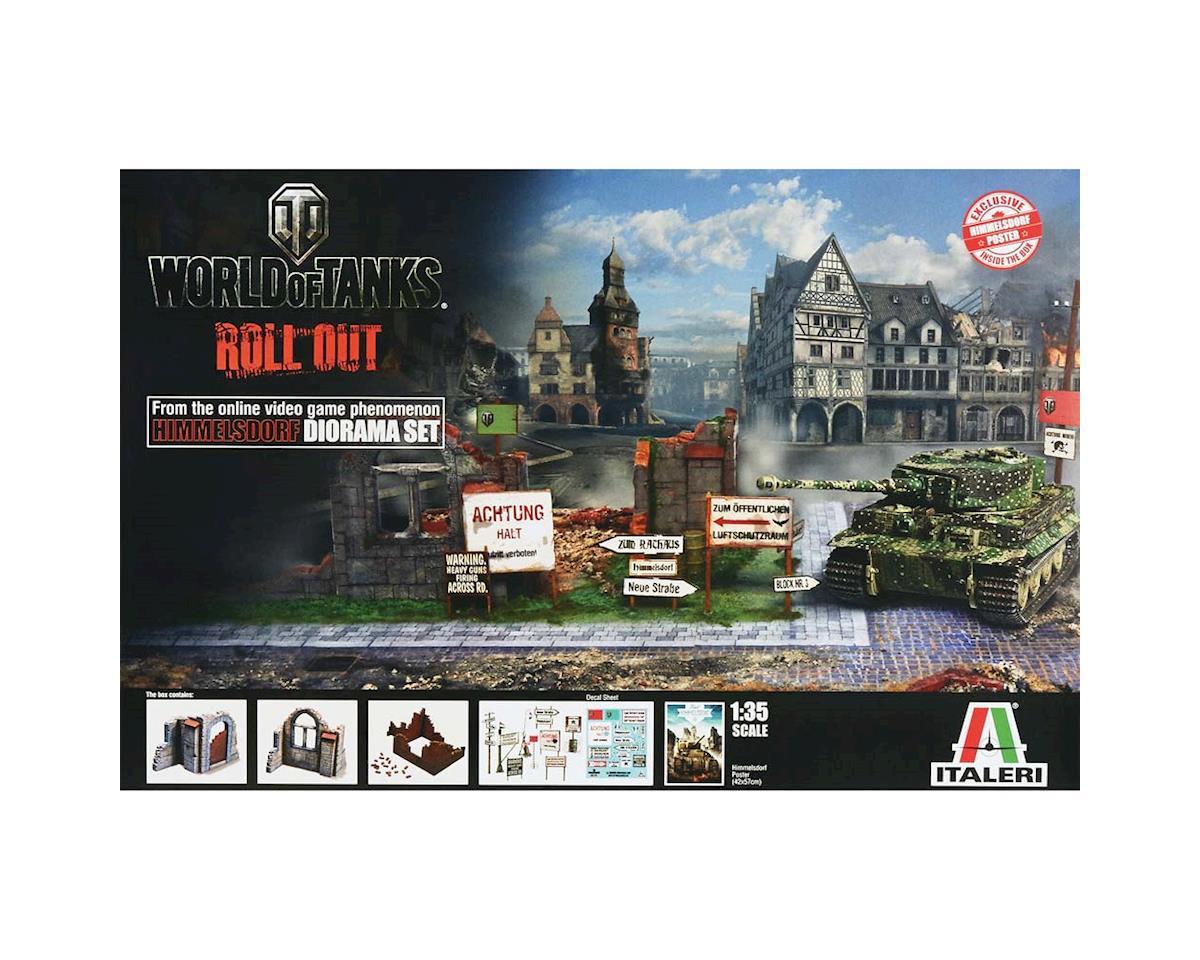 Italeri Models 1/35 World of Tanks Diorama Set