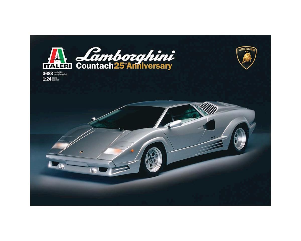 Italeri Models 1/24 Lamborghini Countach 25Th Anniversary