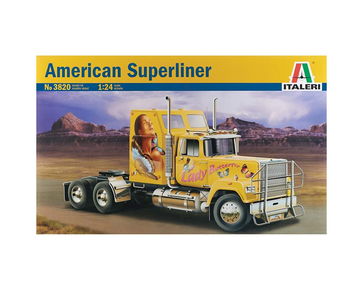 1/24 American Superliner Tractor by Italeri Models