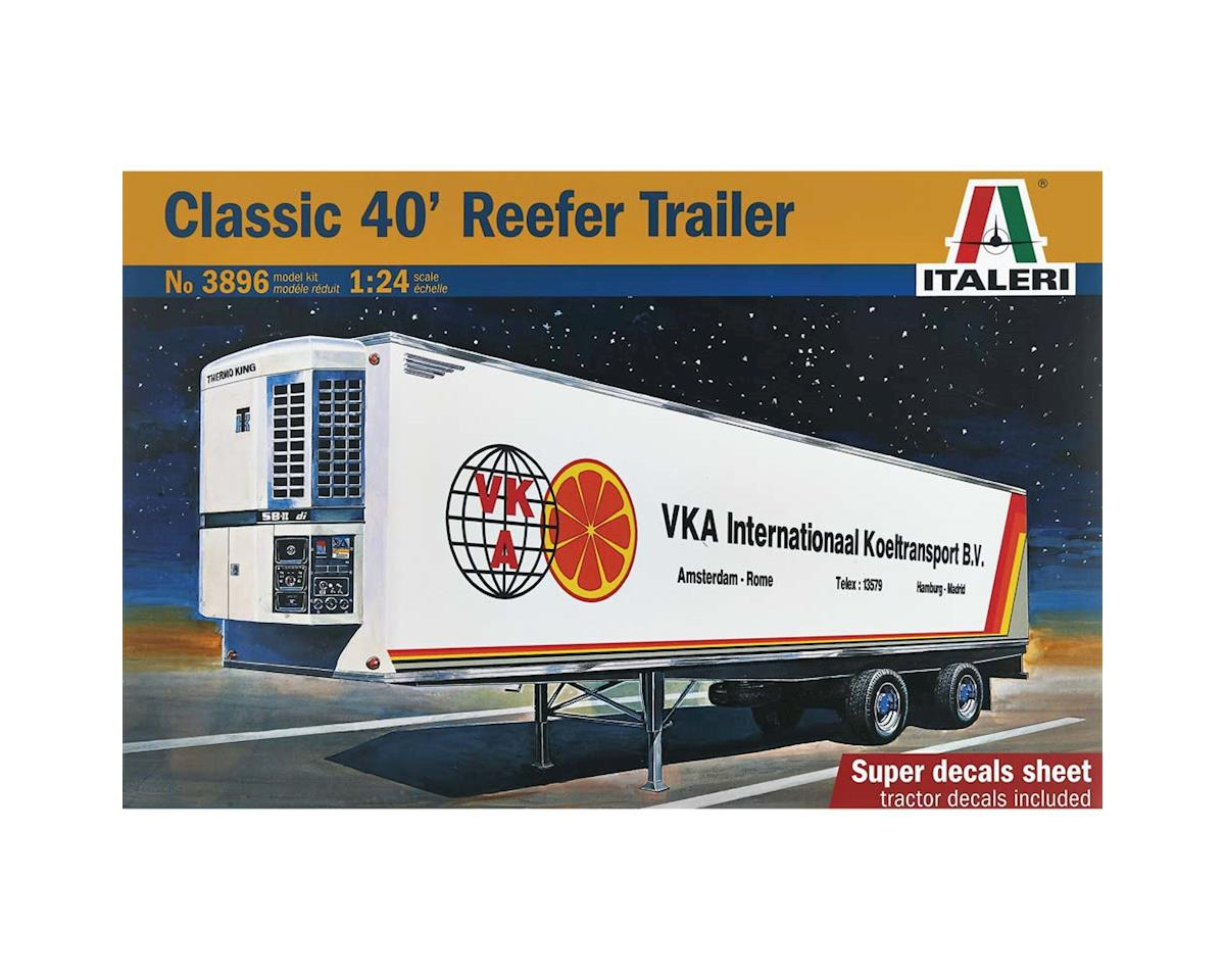 Italeri Models 1/24 Classic 40' Reefer Trailer
