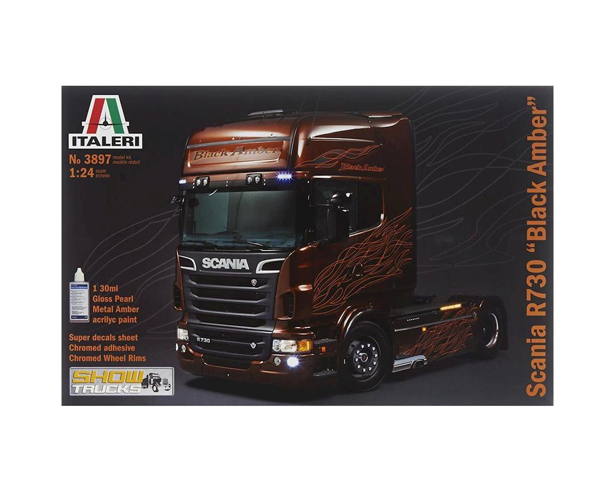 Italeri Models 1/24 Scania R Black Amber