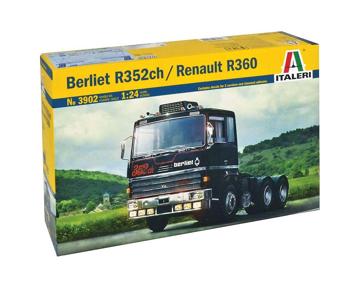 Italeri Models 1/24 Berliet R352ch/Renault R360 Truck