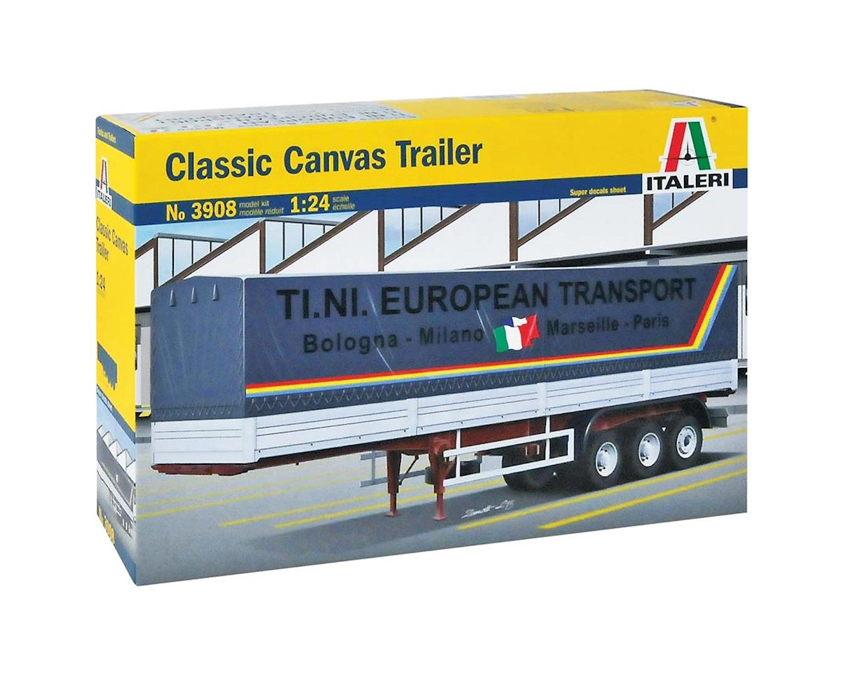 3908S 1/24 Classic Canvas Trailer by Italeri Models