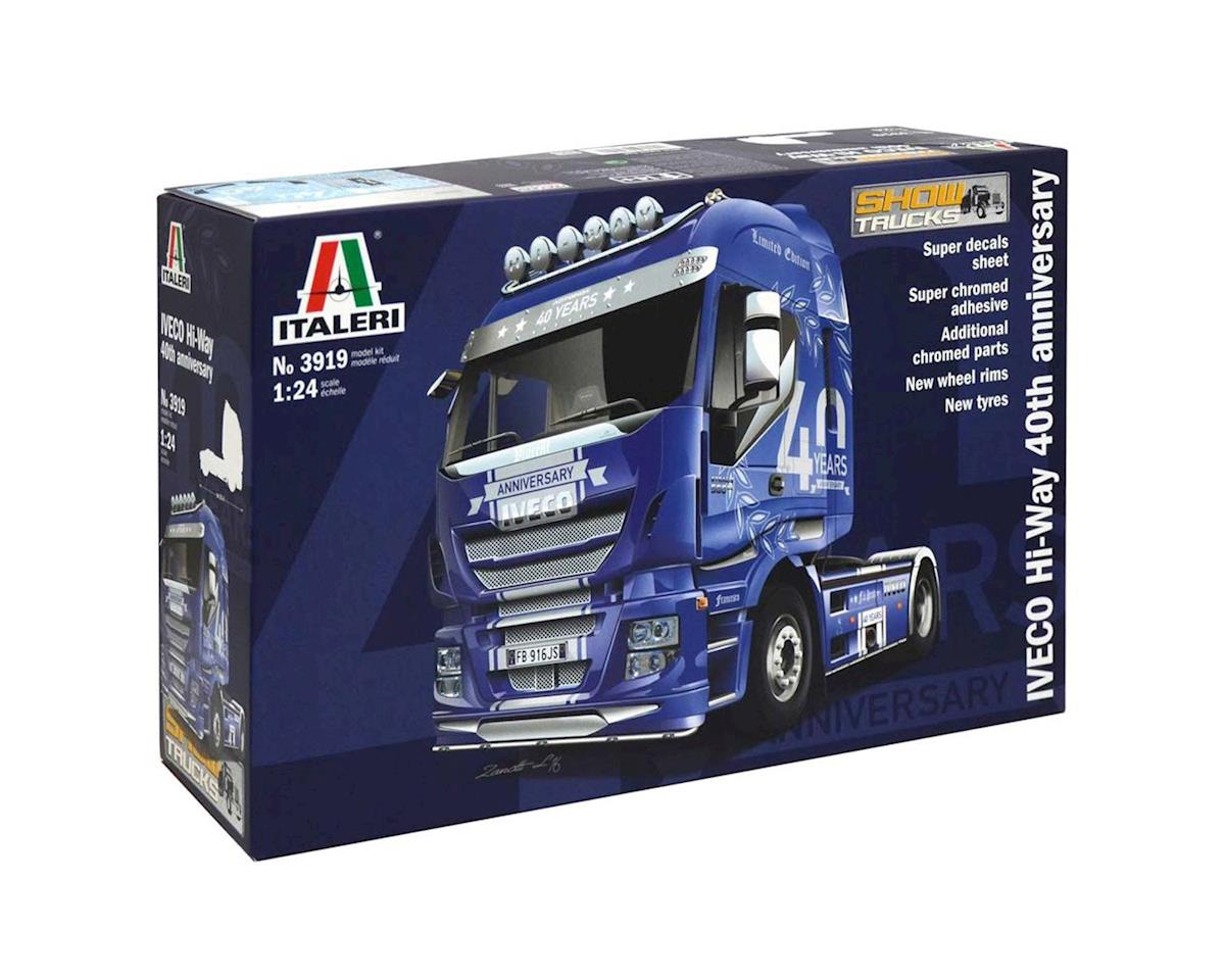 "Italeri Models 1/24 IVECO ""Hi-Way"" 40th Anniversary"