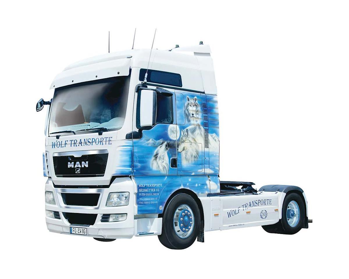 """1/24 MAN TGX XXL """"Wolf Transorte"""" Semi Truck by Italeri Models"""