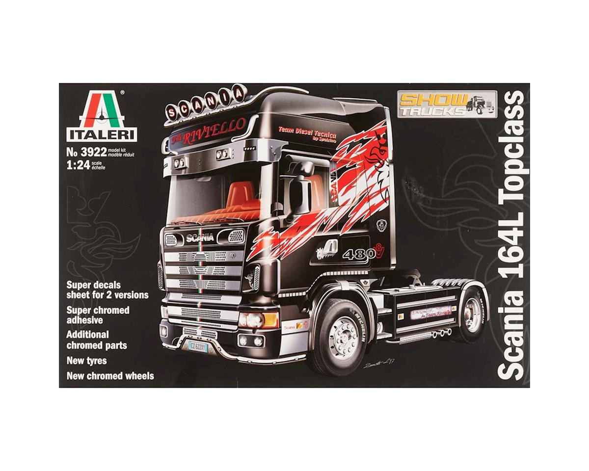 Italeri Models 1/24 Scania 164L Topclass w/Chromed Parts