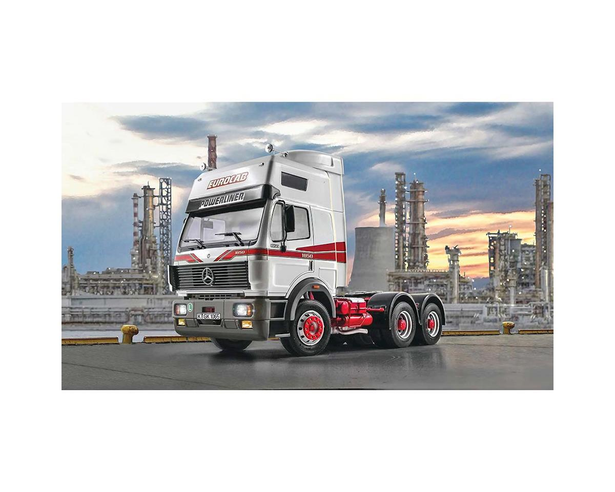 Italeri Models 1/24 Mercedes Benz SK Eurocab 6x4 Semi Truck