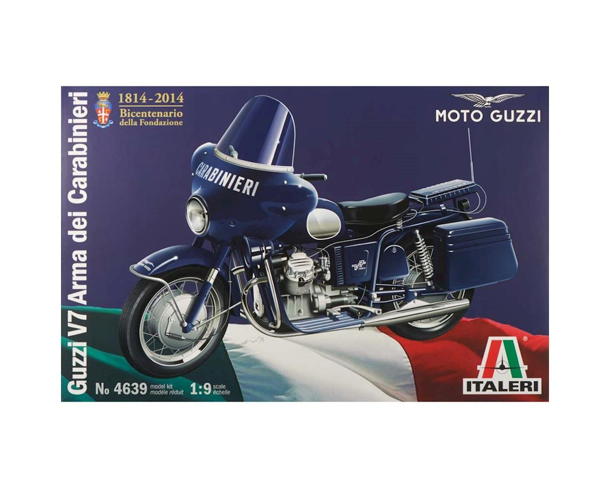 Italeri Models 1/9 Moto Guzzi V7 Carabinieri