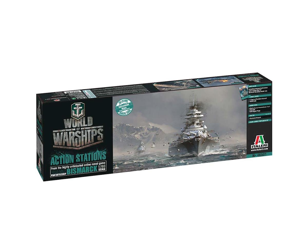 Italeri Models 1/700 World Warships German Battleship Bismarck