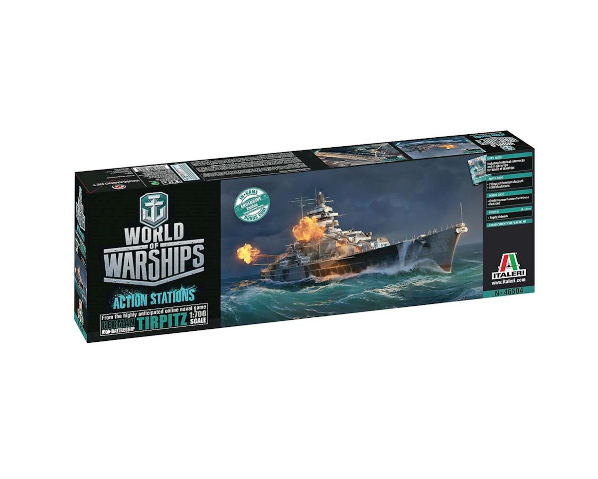 Italeri Models 1/700 World of Warships Tirpitz