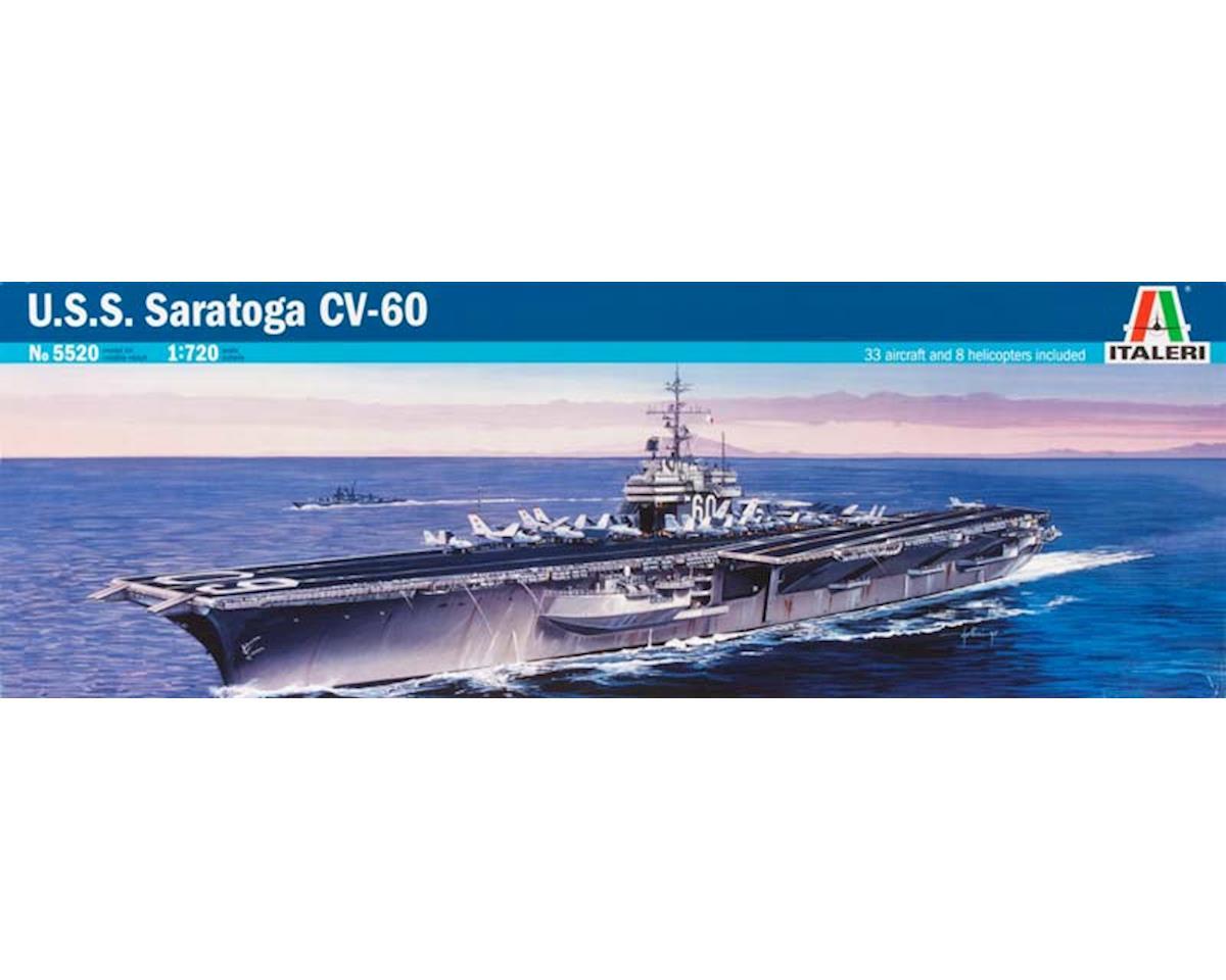 Italeri Models 1/720 USS Saratoga CV-60