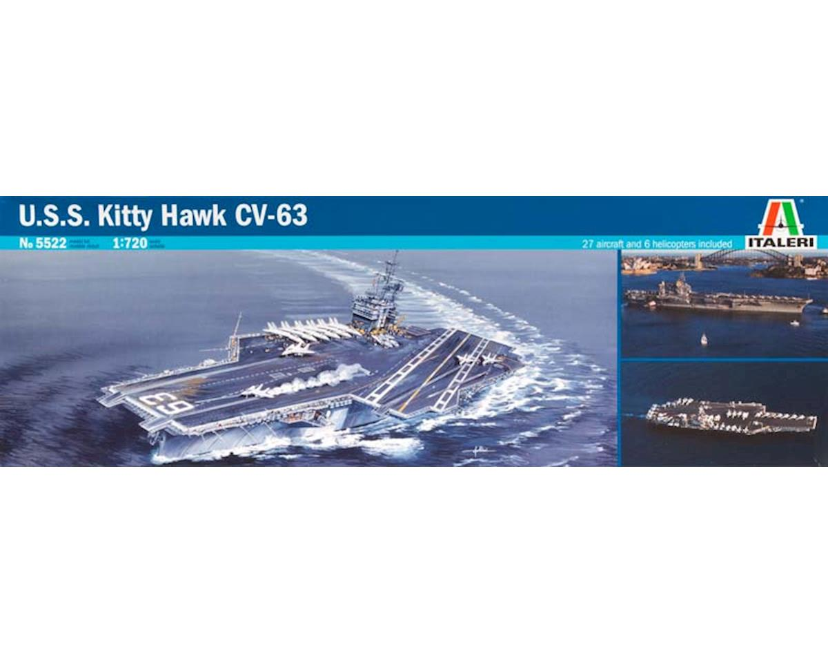 Italeri Models 1/720 USS Kitty Hawk CV-63