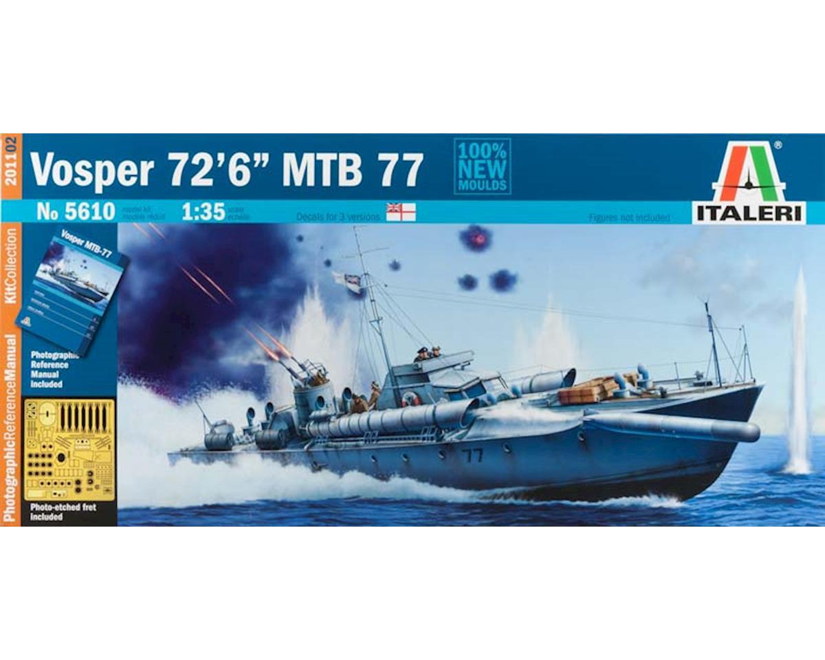 "Italeri Models 1/35 Vosper 73' 6"" MTB"