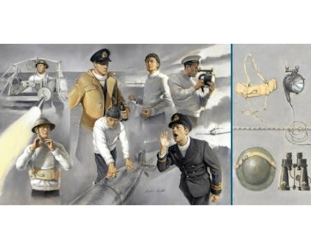 Italeri Models 1/35 Vosper Crew