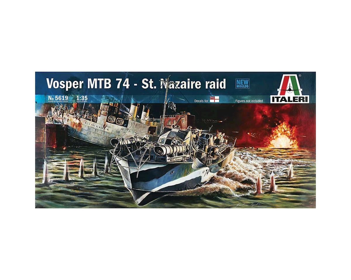 Italeri Models 1/35 Vosper MTB 74 St. Nazaire Raid