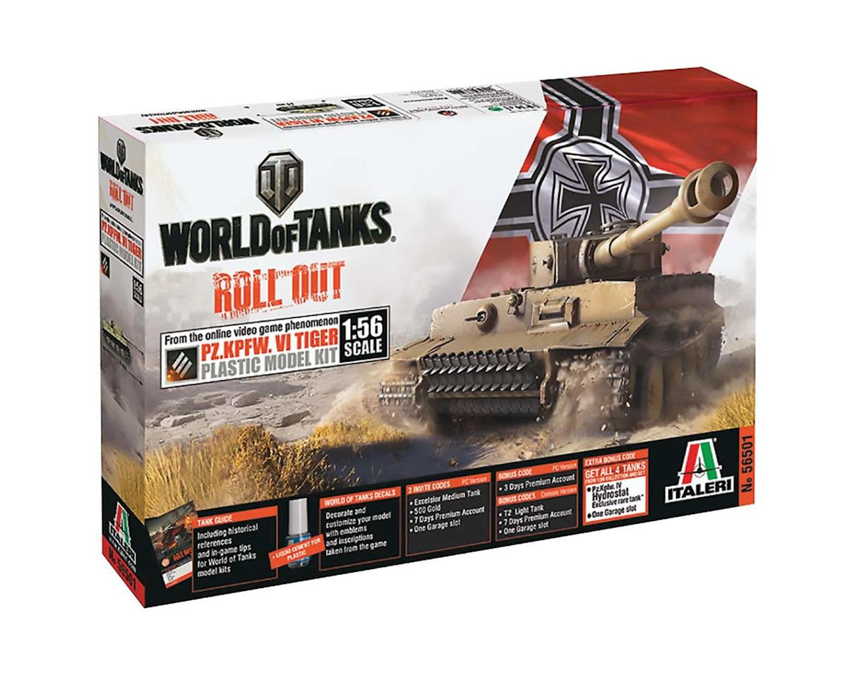 1/56 World Of Tanks Pz.Kpfw.Vi Tiger by Italeri Models