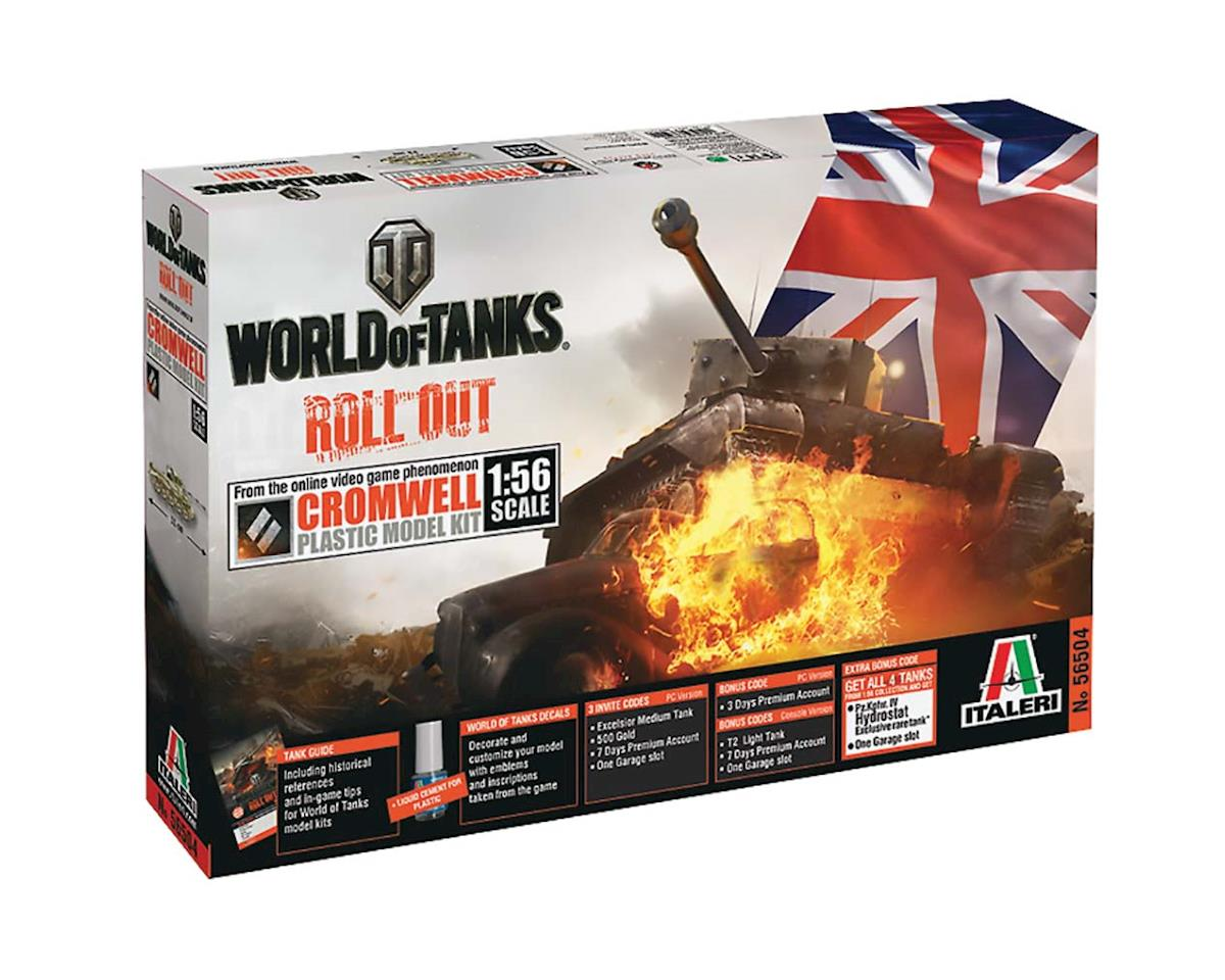 Italeri Models 1/56 World Of Tanks Cromwell