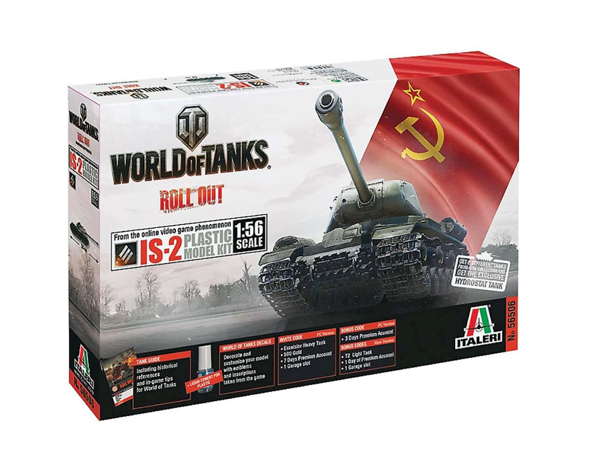 Italeri Models 1/56 World of Tanks IS-2