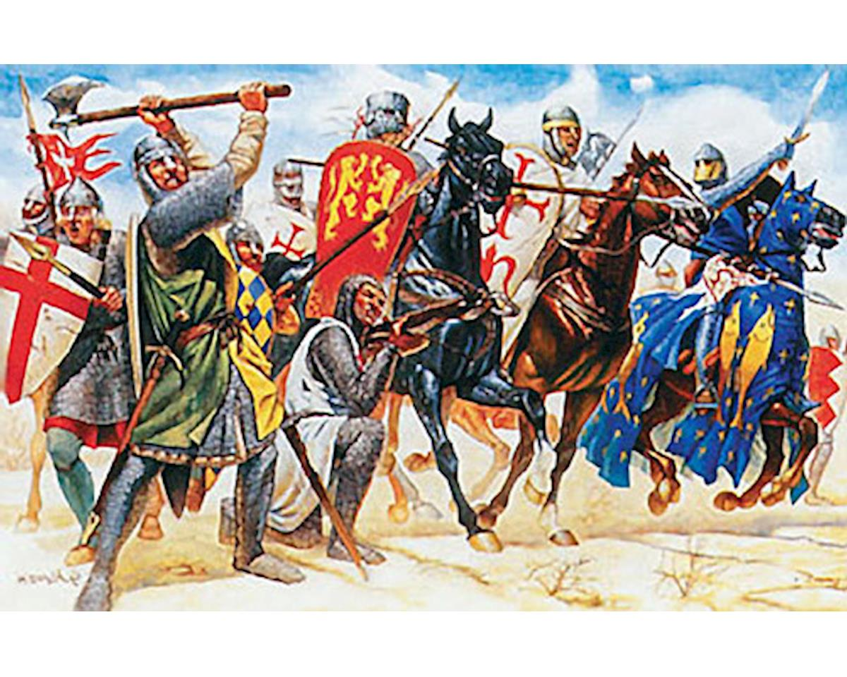 Italeri Models 1/72 Crusaders (43 Figures)