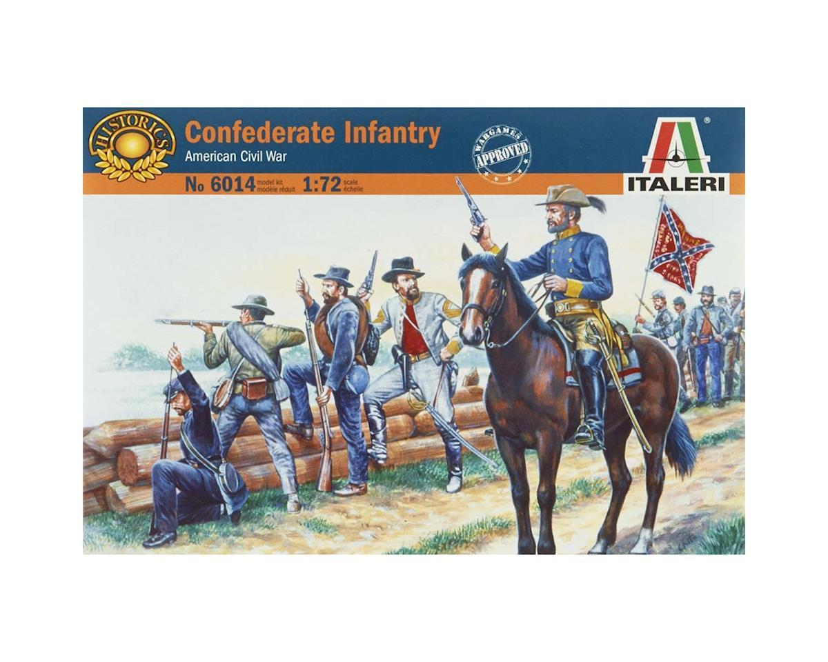 Italeri Models 1/72 Confederate Infantry (52)