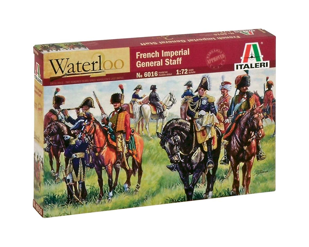 Italeri Models 1/72 Napoleonic War: French Imperial General Staff