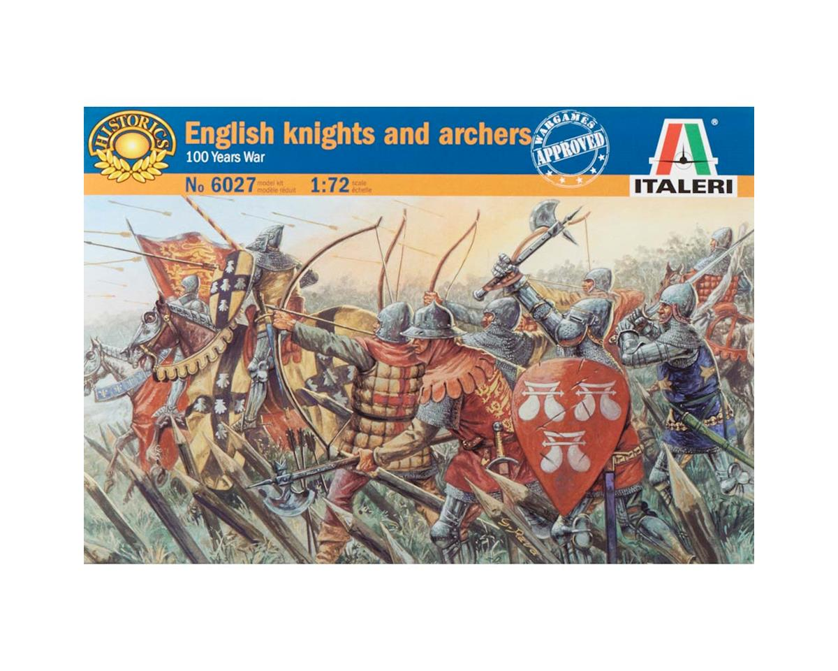 Italeri Models 1/72 Middle Ages English Knights/Archers