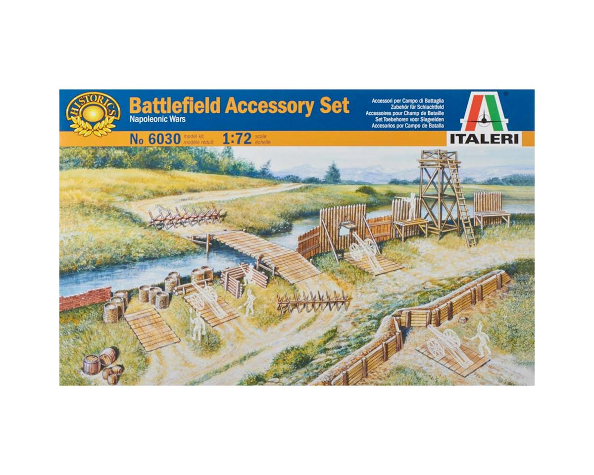 Italeri Models 1/72 Napoleonic Wars Battlefield Accessories Set