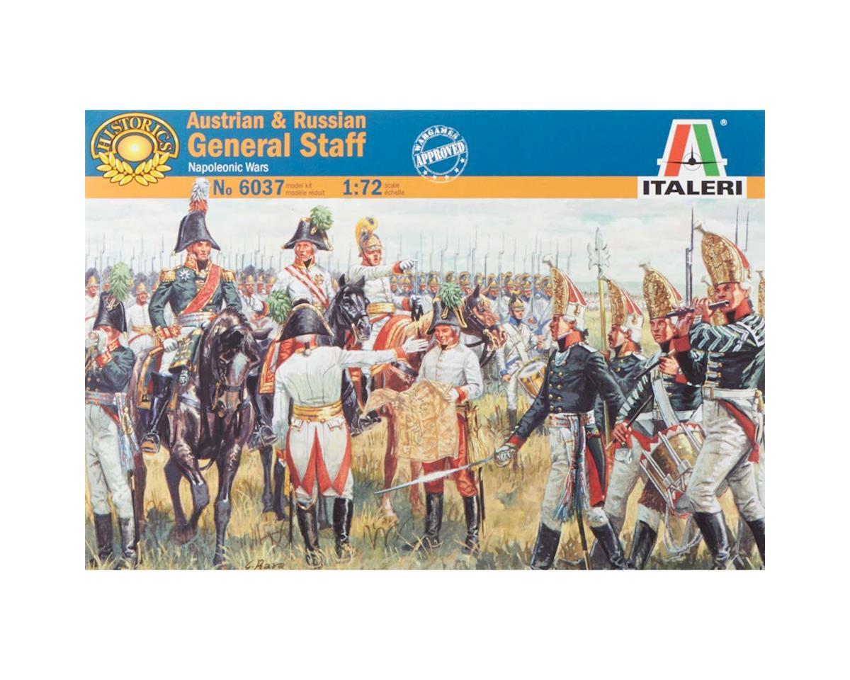 1/72 Napoleonic Wars Austrian/Russian General Set by Italeri Models