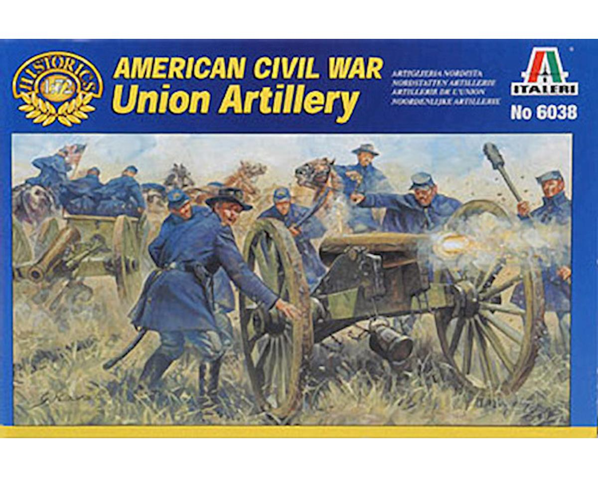 Italeri Models 1/72 Civil War UN Artillery