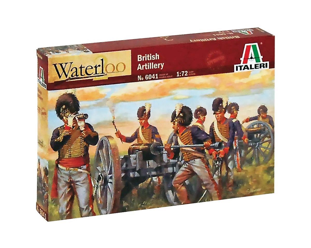 Italeri Models 1/72 Waterloo British Artillery Napoleon Wars